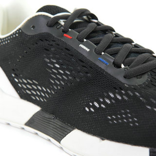 Chaussures Le Coq Sportif Lcs R Pro Engineered Mesh Homme Noir Blanc